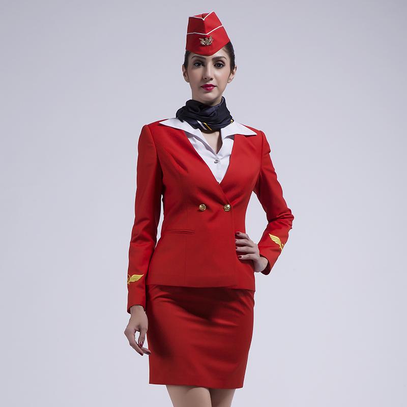 经典俄罗斯航空职业装高级定制(BDFU004)