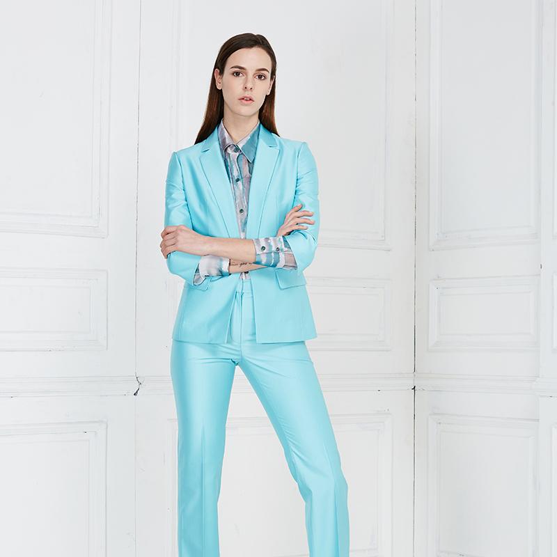 时尚正装套裤制服高级量身定制