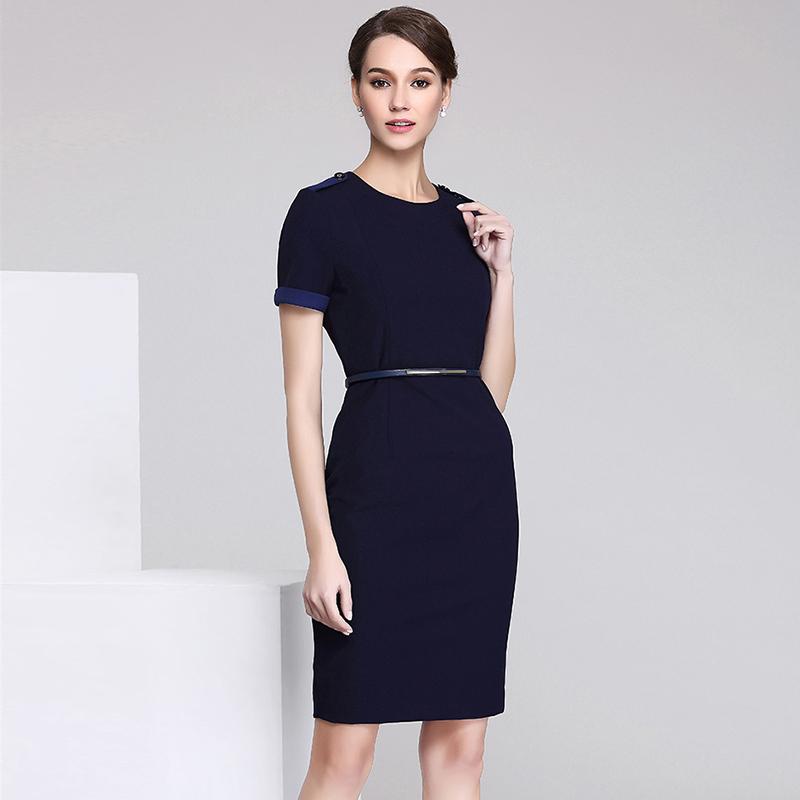 高档职业女套装专柜服装高级定制(BDBA021)