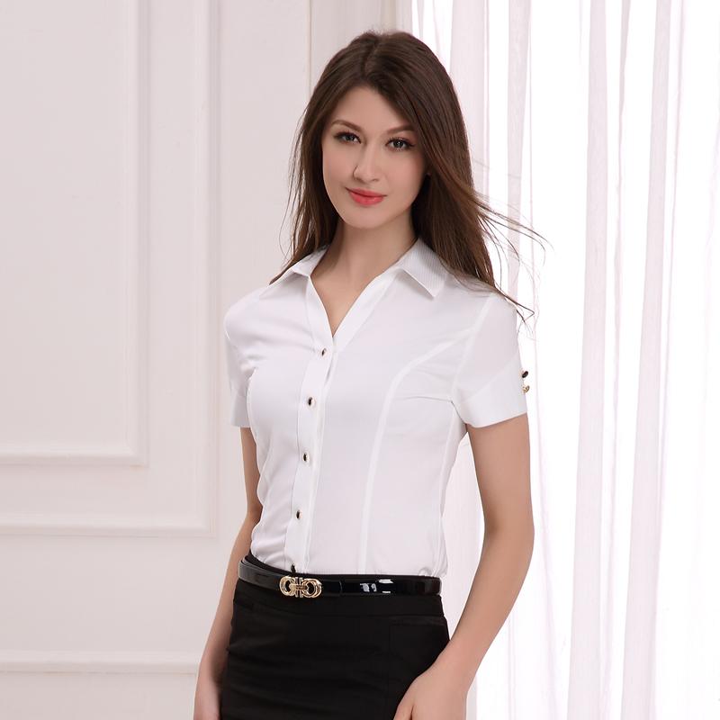 职业女衬衫定做(DSHL-007)