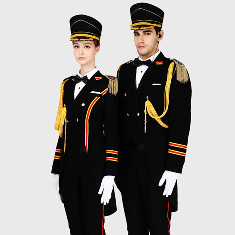 礼宾服定制(BDSEM023)男女同款