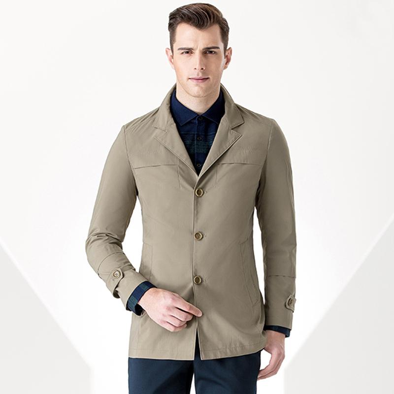 立领纯色中长装大衣外套BDDJ008