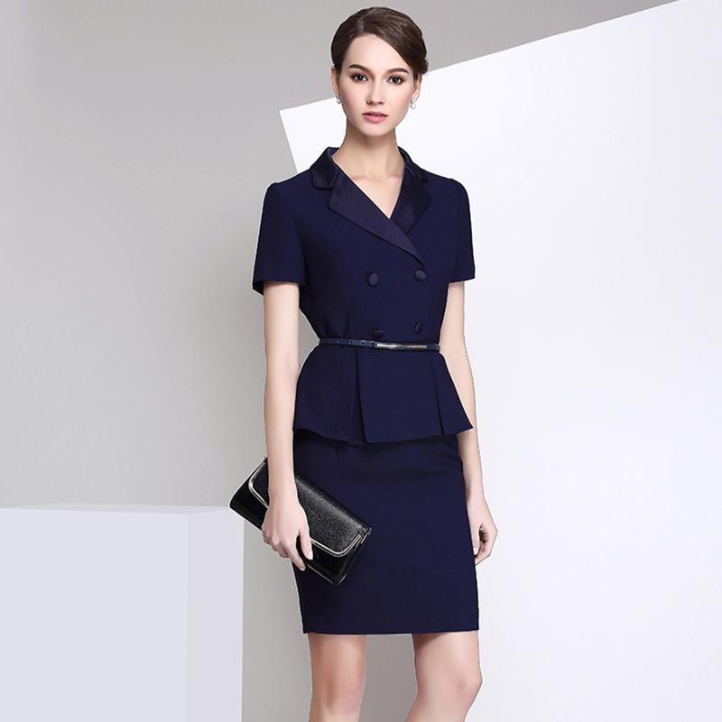 高档职业女套装专柜服装高级定制(BDBA024)