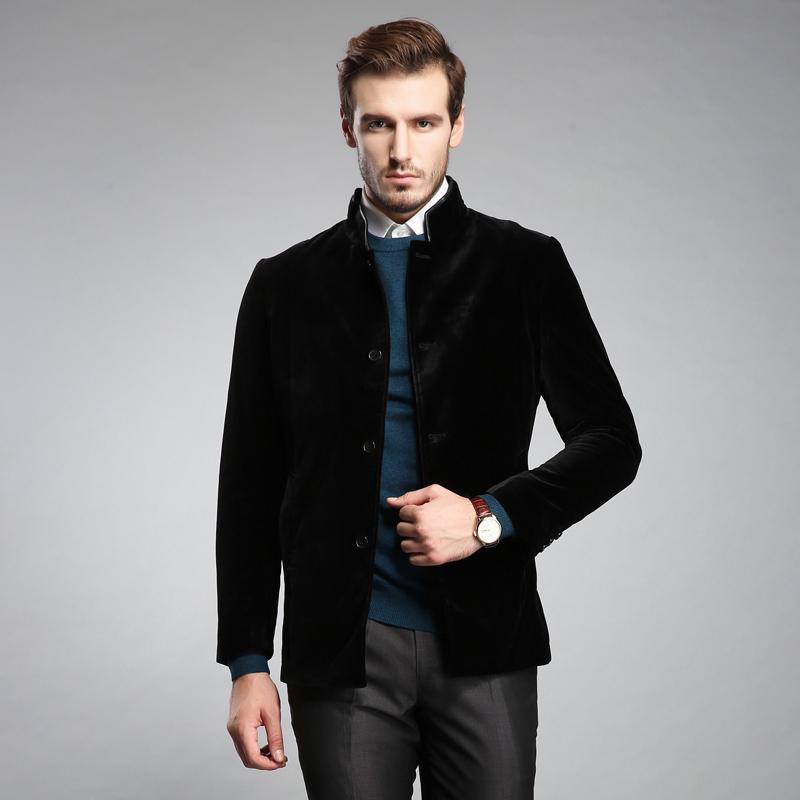 冬季工作服男装外套立领商务休闲夹克定制BDDC011