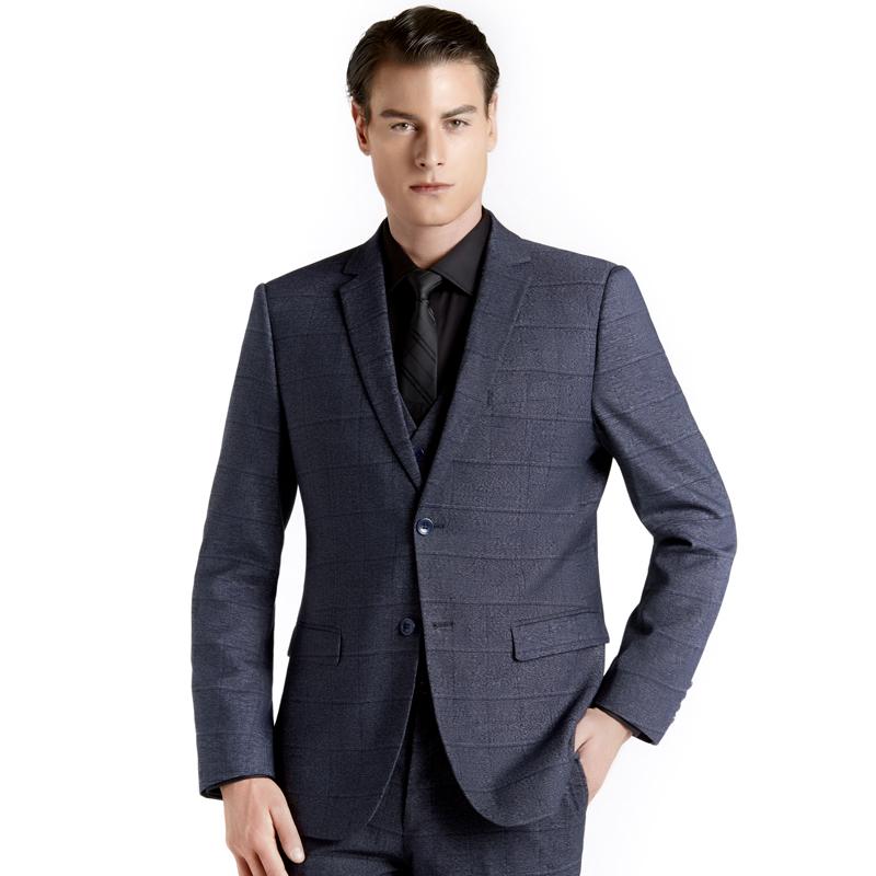 西服套装男商务正装青年职业西装三件套工作服定制BDYJKM069